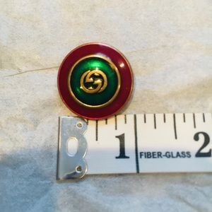 Authentic Gucci brass button